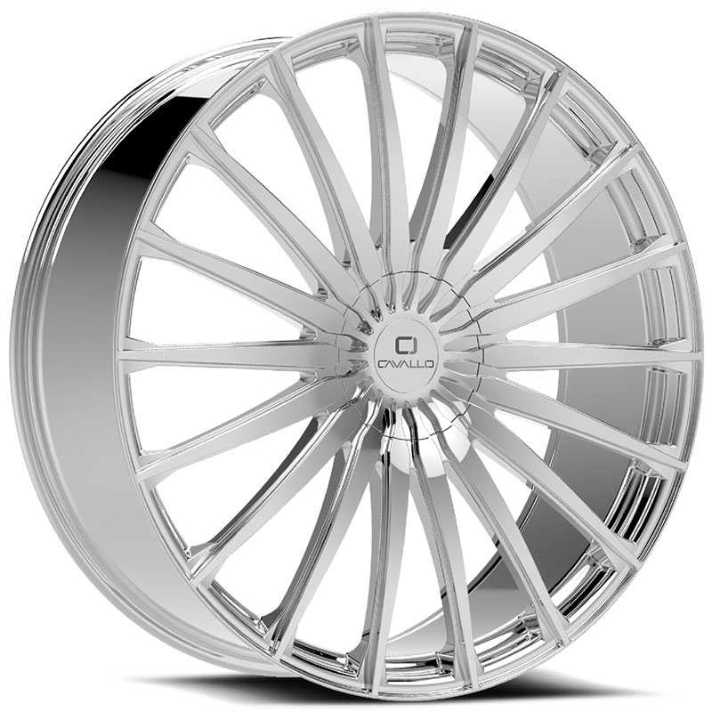 Cavallo CLV-34  Wheels Chrome