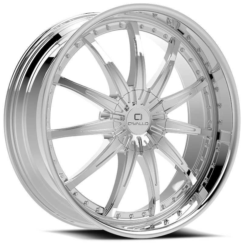 Cavallo CLV-35  Wheels Chrome