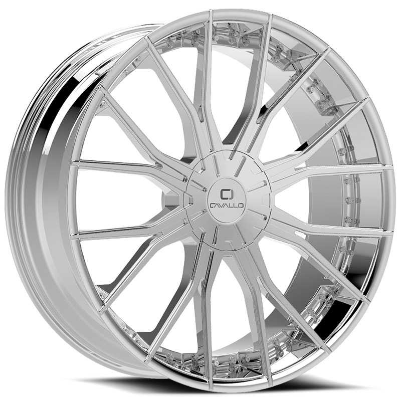 Cavallo CLV-36  Wheels Chrome