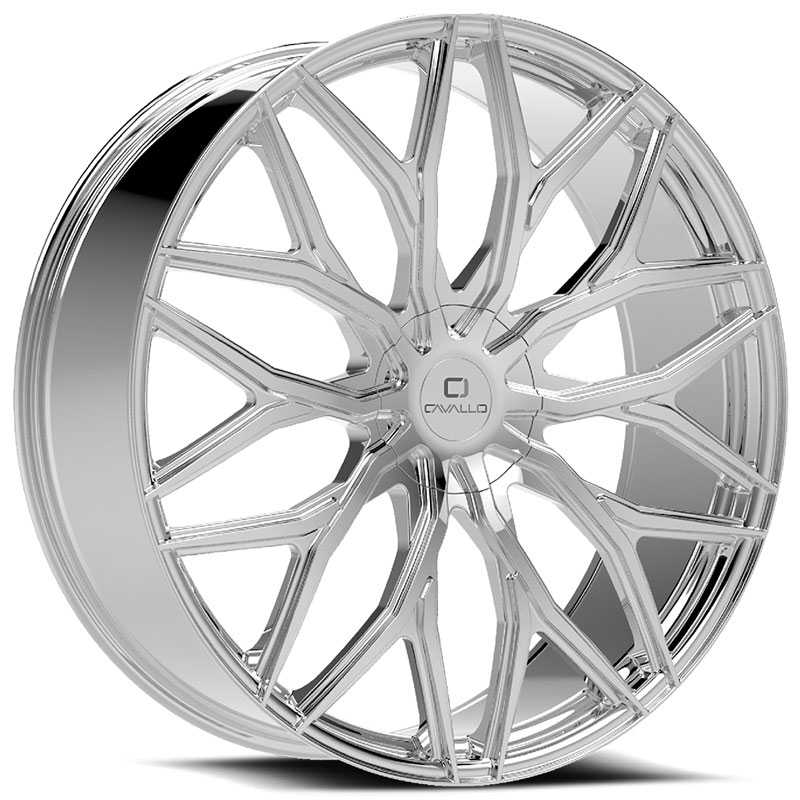 Cavallo CLV-37  Wheels Chrome