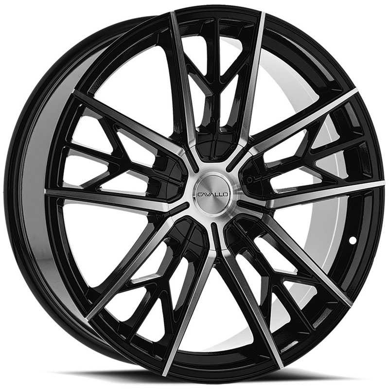 Cavallo CLV-39  Wheels Gloss Black Machined