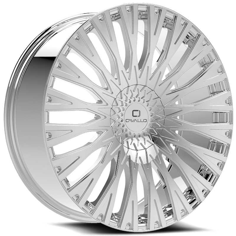Cavallo CLV-40  Wheels Chrome