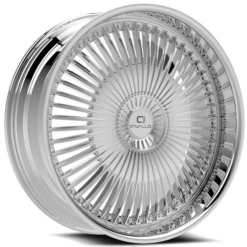 Cavallo CLV-41  Wheels Chrome