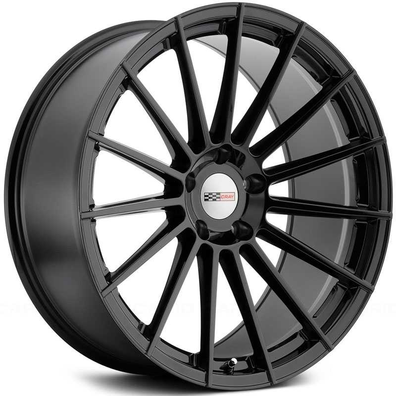 Cray Mako  Wheels Gloss Black