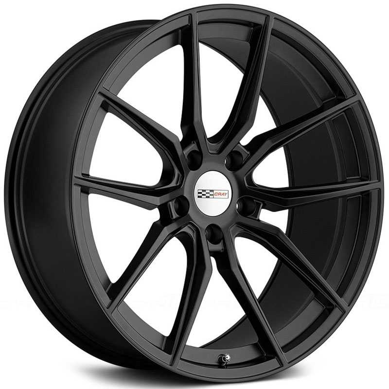 Cray Spider  Wheels Matte Black