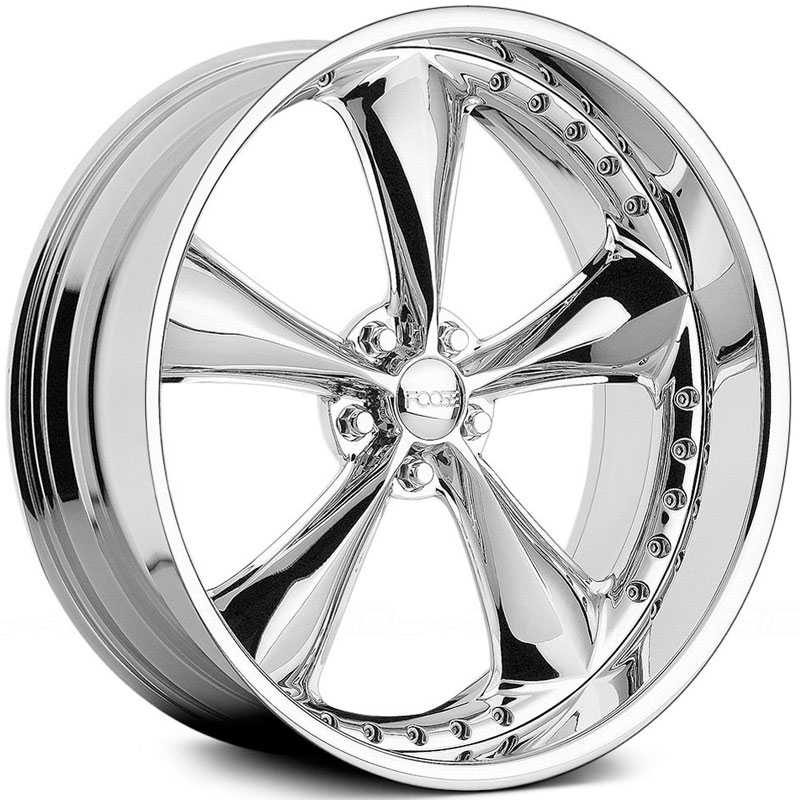 Foose F317 Nitrous Sec  Wheels Polished Chrome