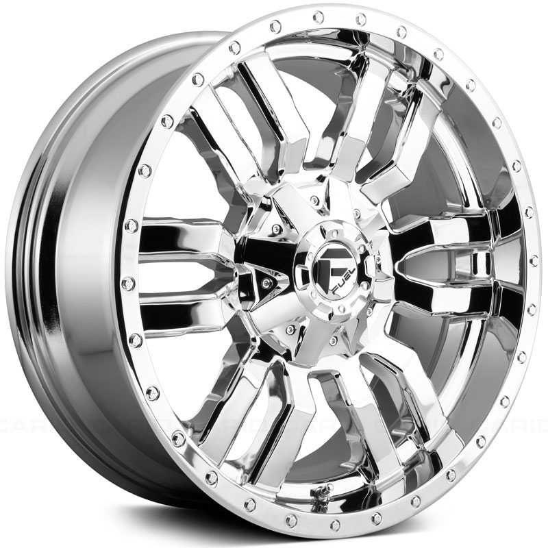 Fuel D631 Sledge  Wheels Chrome