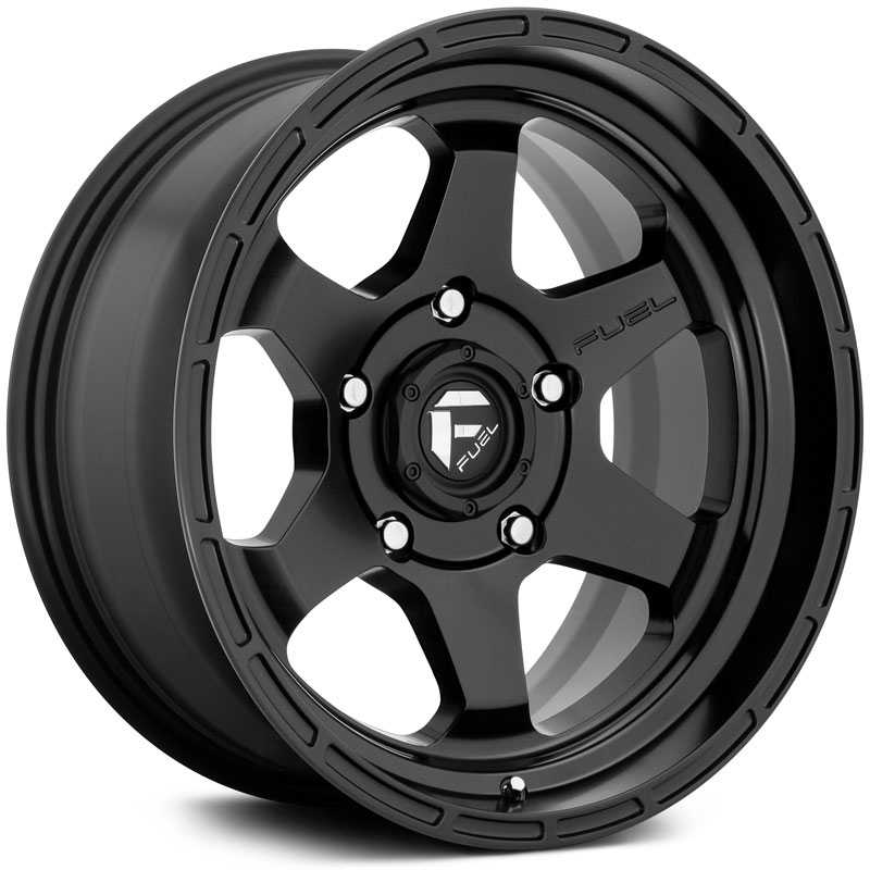 Fuel D664 Shok  Wheels Matte Black