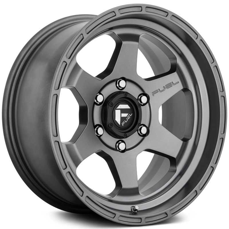 Fuel D665 Shok  Wheels Anthracite