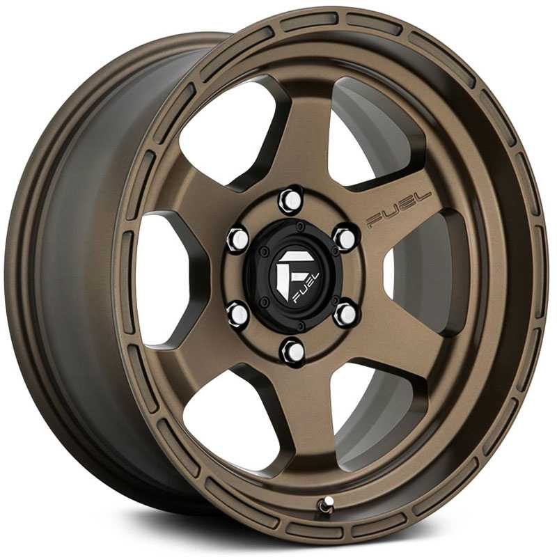 Fuel D666 Shok  Wheels Bronze