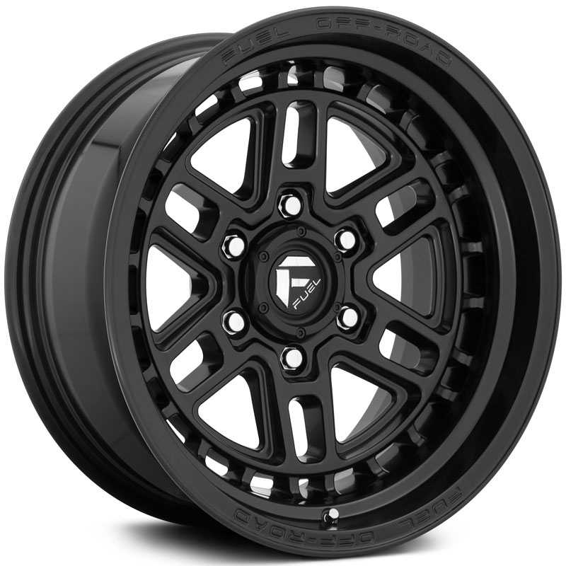 Fuel D667 Nitro  Wheels Matte Black