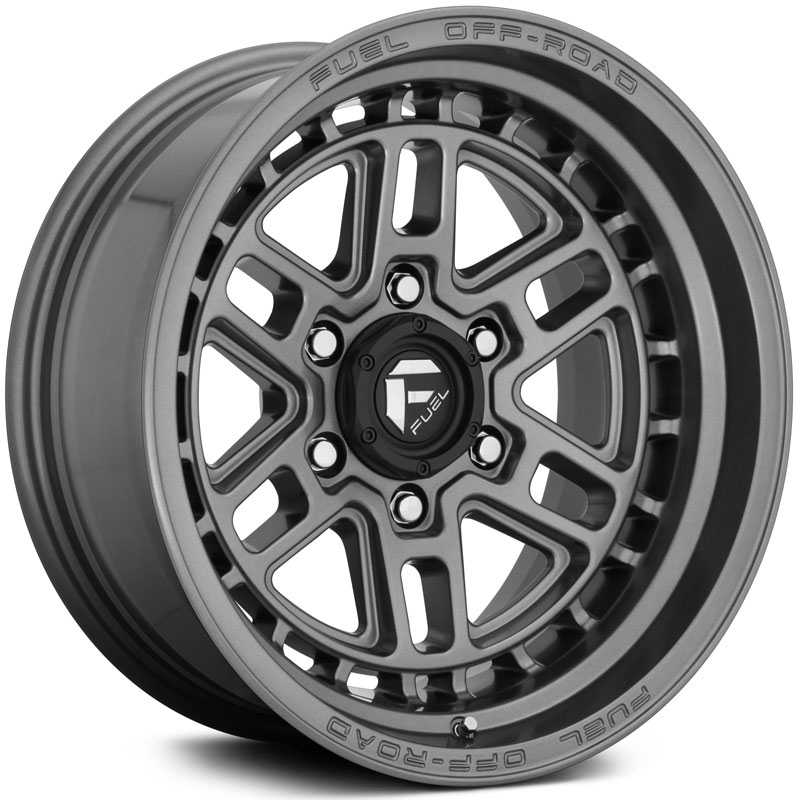 Fuel D668 Nitro  Wheels Anthracite