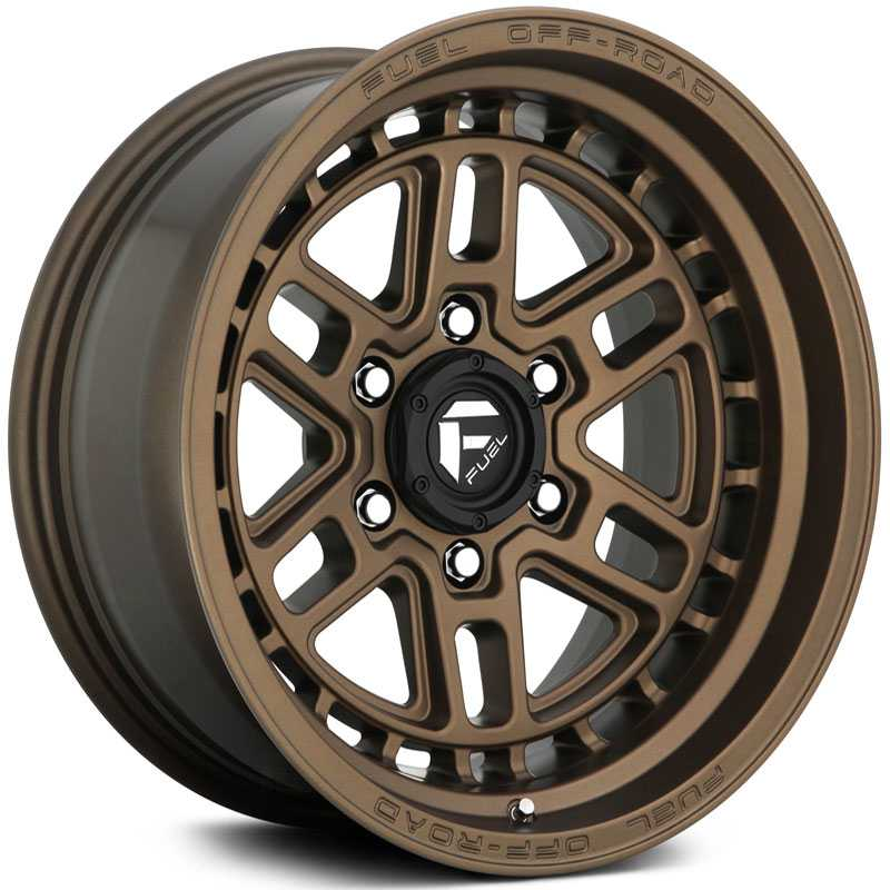 Fuel D669 Nitro  Wheels Bronze