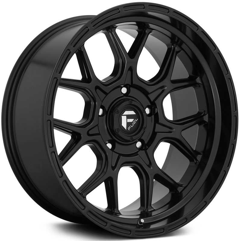Fuel D670 Tech  Wheels Matte Black
