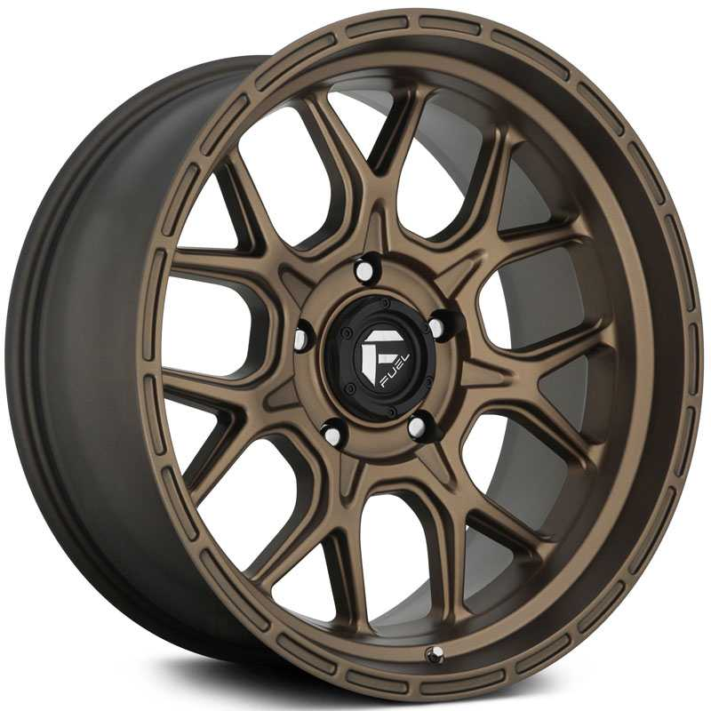 Fuel D671 Tech  Wheels Bronze