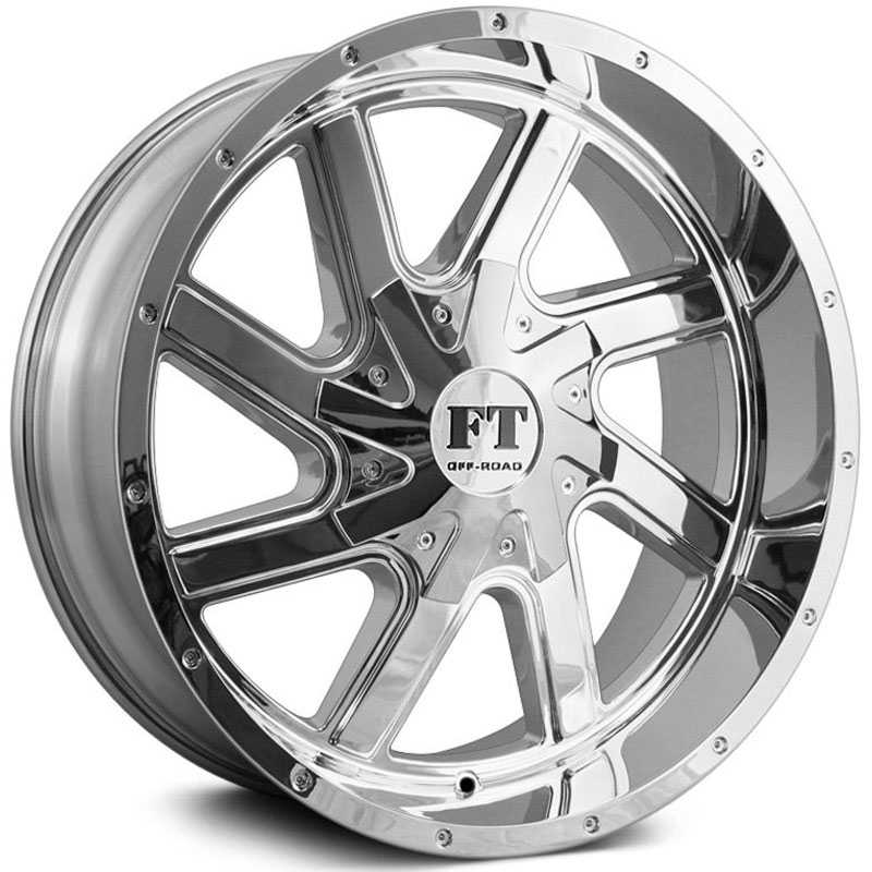 Full Throttle Full Throttle FT1  Wheels Chrome