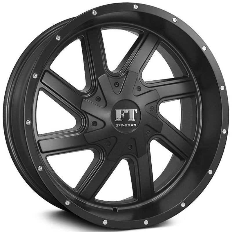 Full Throttle Full Throttle FT1  Wheels Satin Black