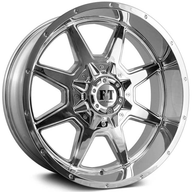 Full Throttle Full Throttle FT2  Wheels Chrome