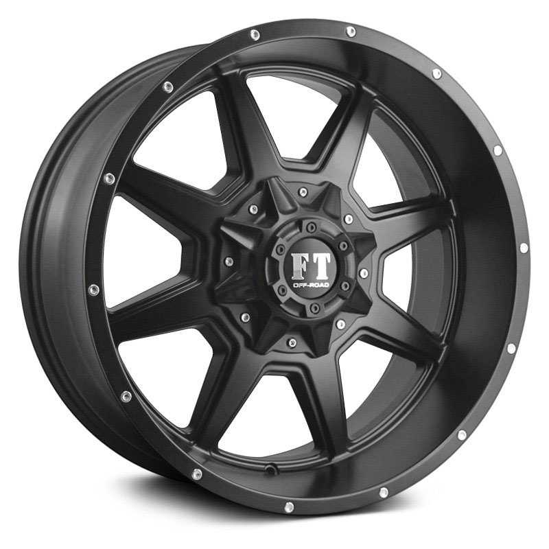 Full Throttle Full Throttle FT2  Wheels Satin Black