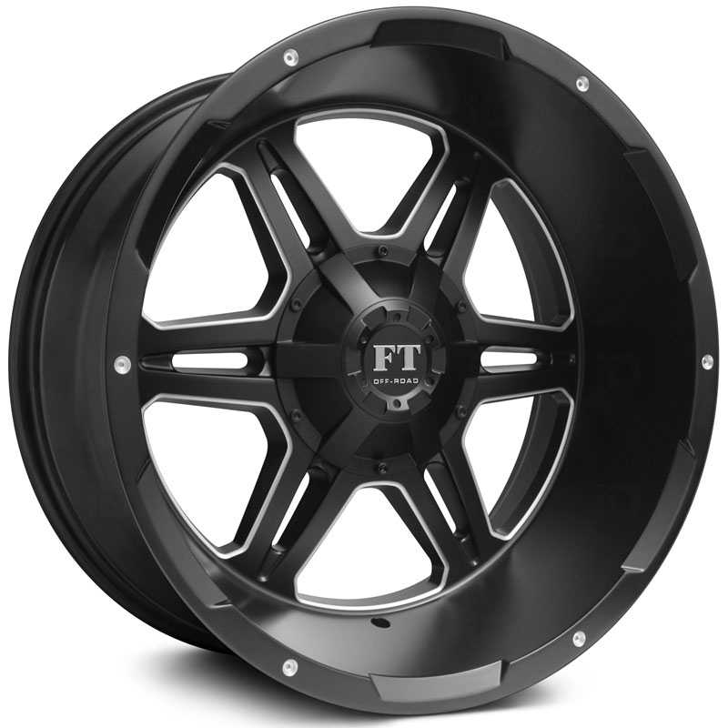 Full Throttle Full Throttle FT3  Wheels Satin Black