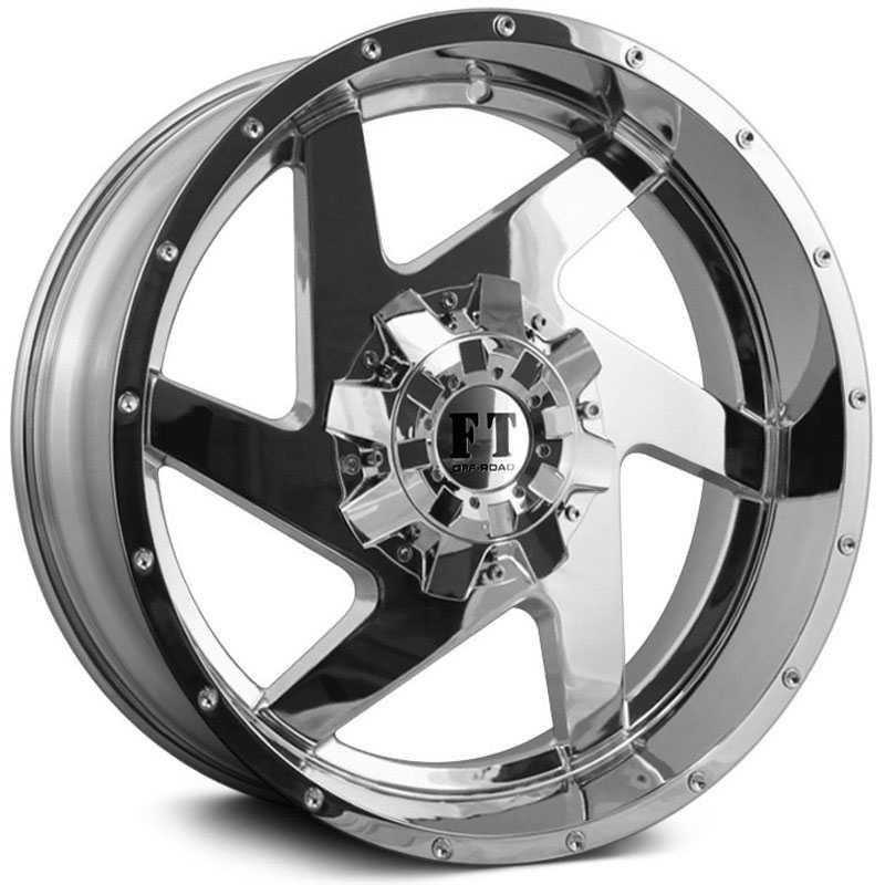 Full Throttle Full Throttle FT6052  Wheels Chrome