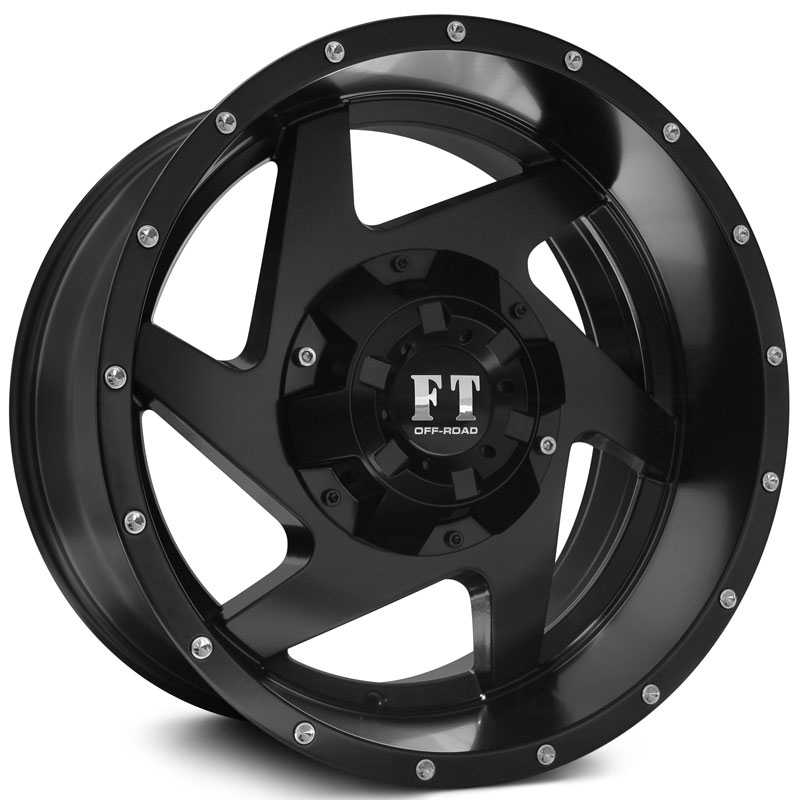 Full Throttle Full Throttle FT6052  Wheels Satin Black