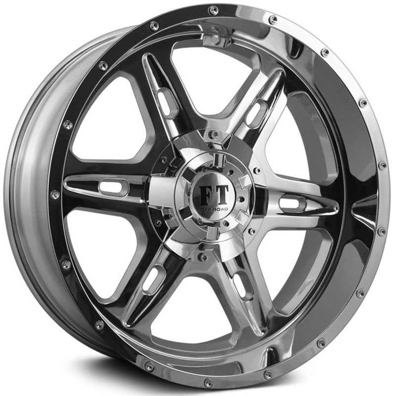 Full Throttle Full Throttle FT6054  Wheels Chrome