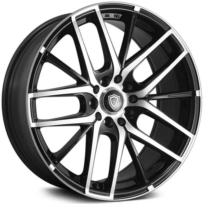 G-Line Alloys G0029 Gloss Black Machined Face