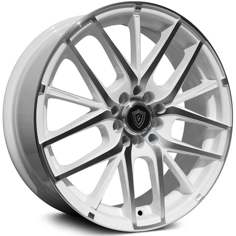 G-Line Alloys G0029 Gloss White Machined Face