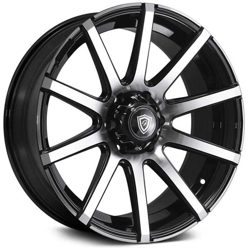 G-Line G-Line Alloys G0036 Gloss Black Machined Face