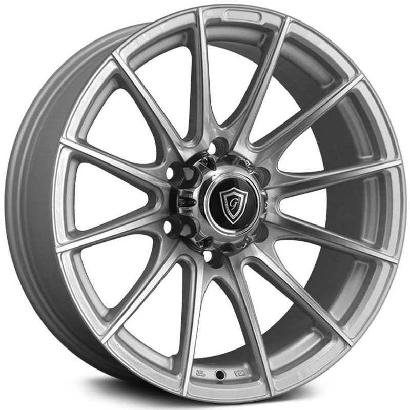 G-Line Alloys G0062 Silver Machined Face