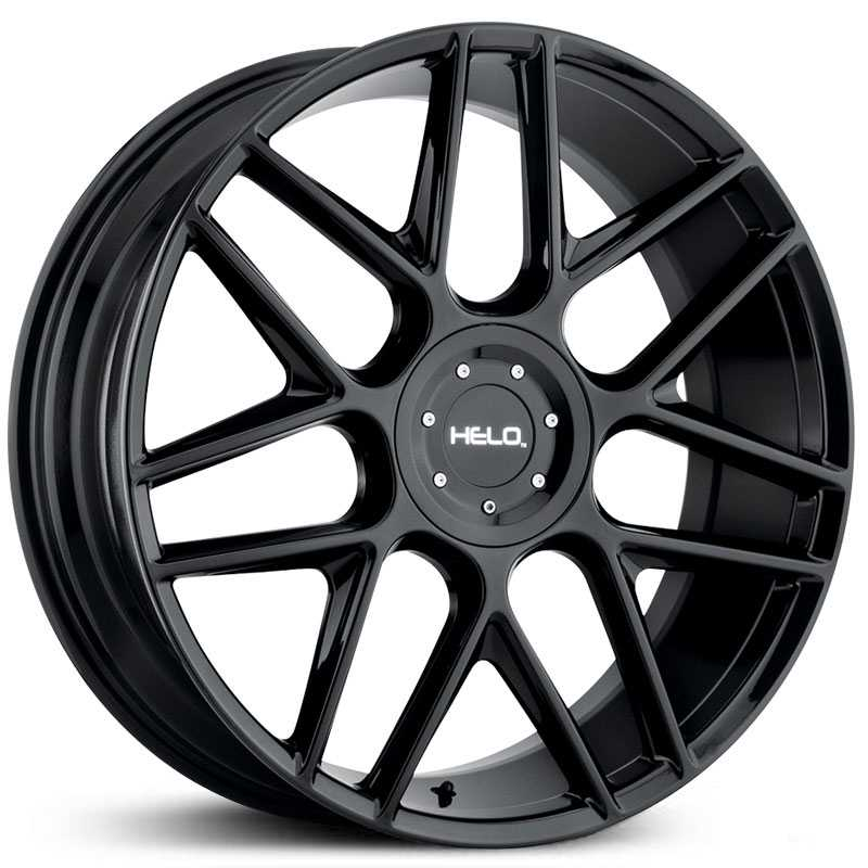 Helo HE912  Wheels Gloss Black
