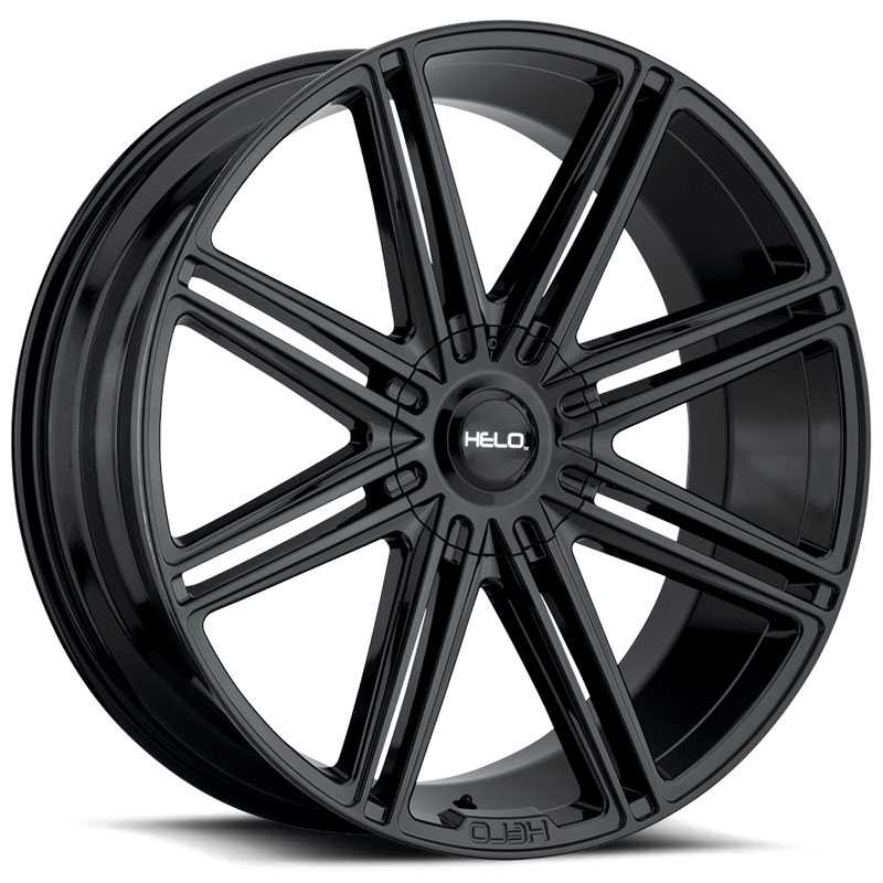 Helo HE913  Wheels Gloss Black