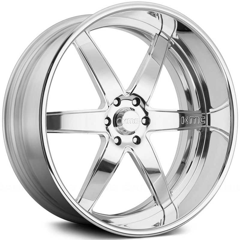 KMC KM401  Wheels Polished Custom Two Piece Finish