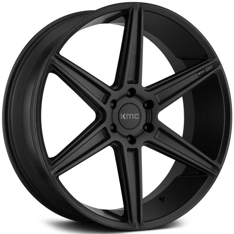 KMC KM712 Prism Truck  Wheels Satin Black