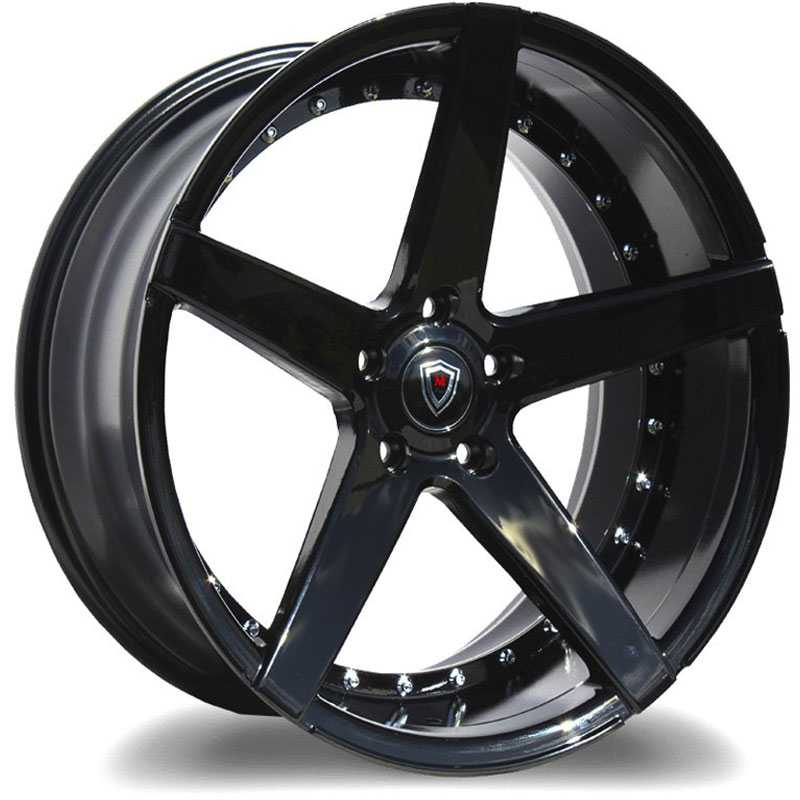 20x9 Marquee Luxury M3226 Gloss Black HPO