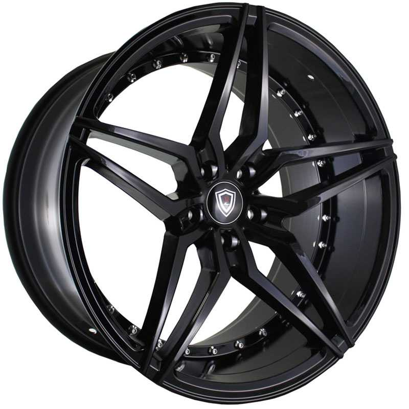 18x8 Marquee Luxury M3259 Gloss Black HPO