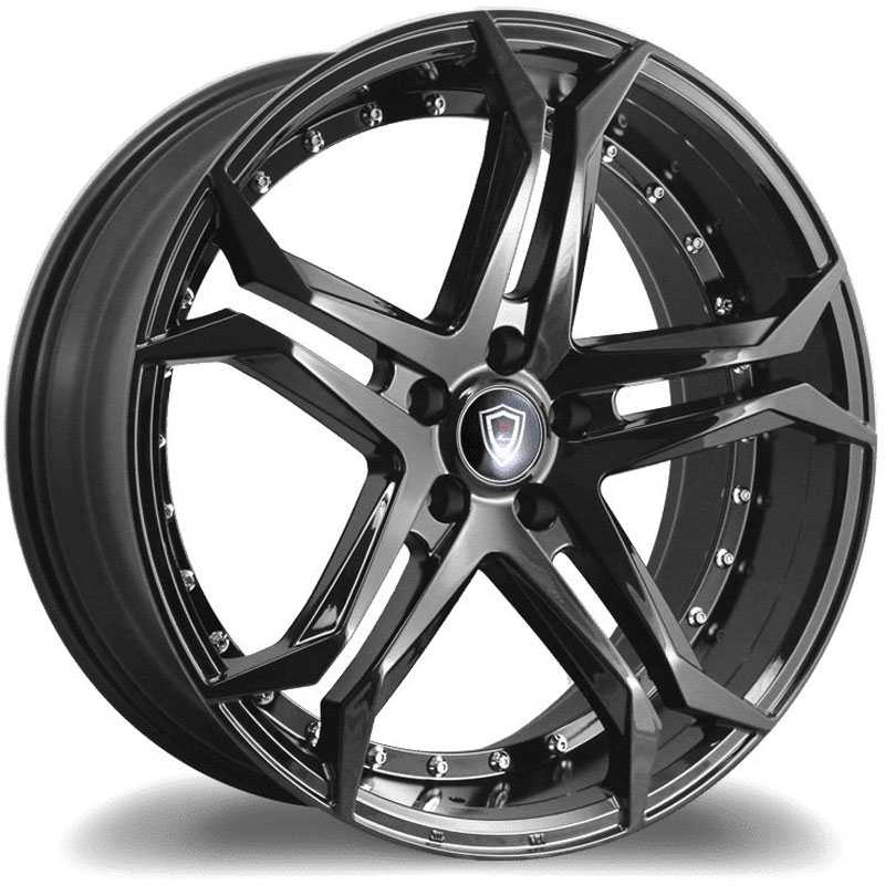 20x10.5 Marquee Luxury M3284 Gloss Black HPO