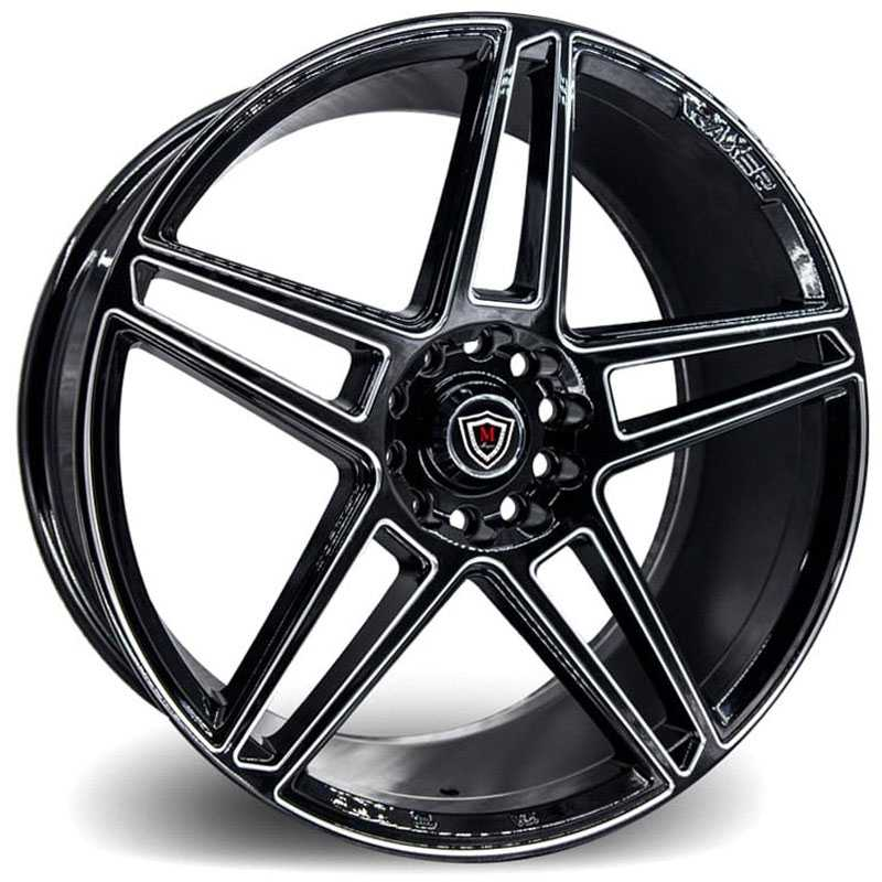 Marquee M3764 Gloss Black Milled