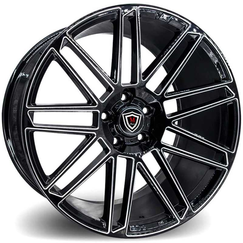 Marquee M3767 Gloss Black Milled