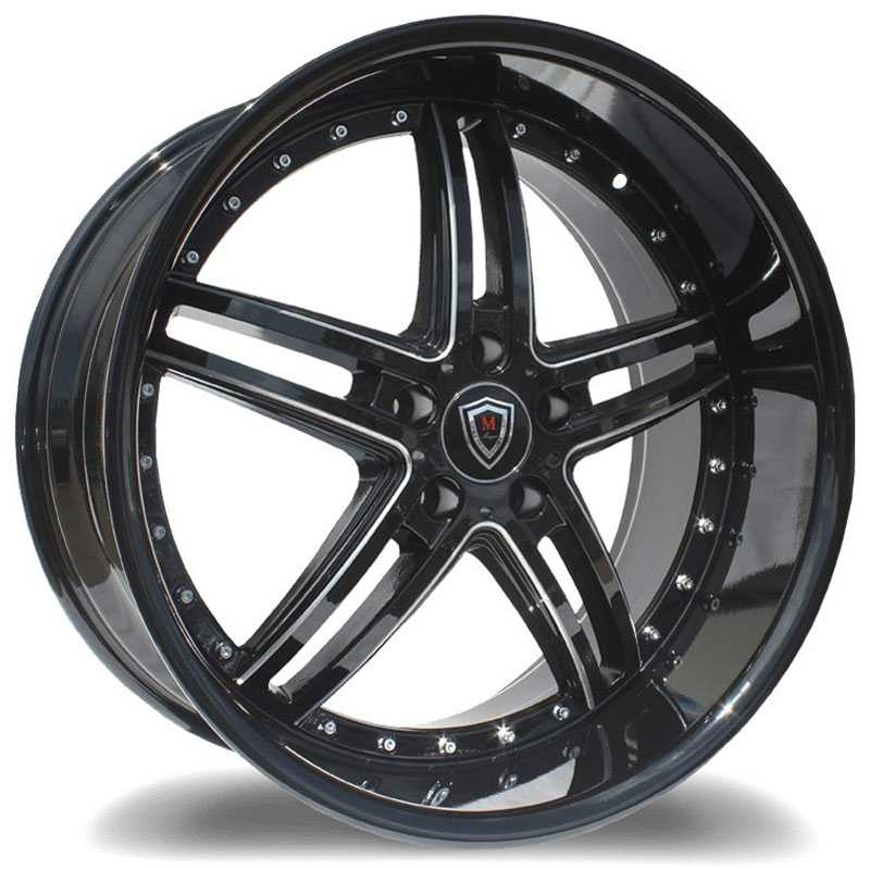 Marquee M5329 Gloss Black Milled