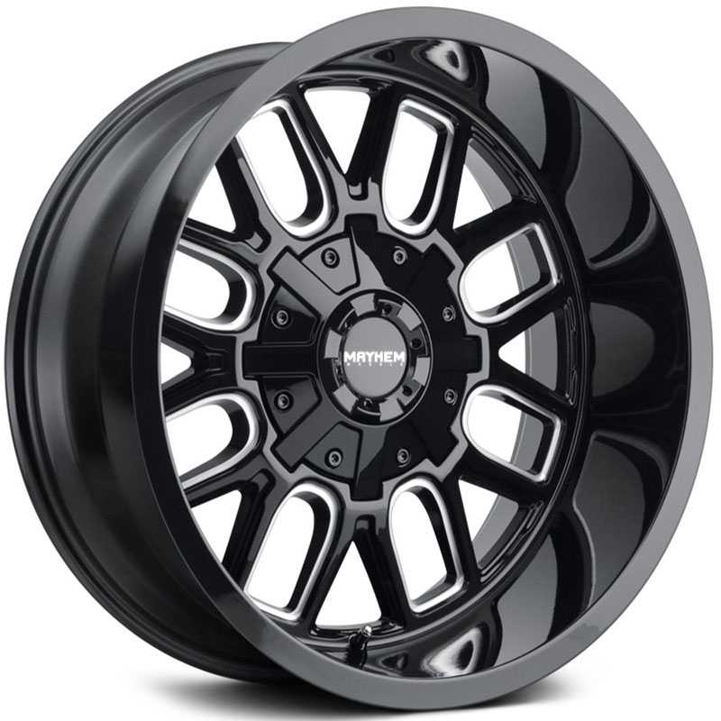 Cogent 8107 Gloss Black Milled Spokes