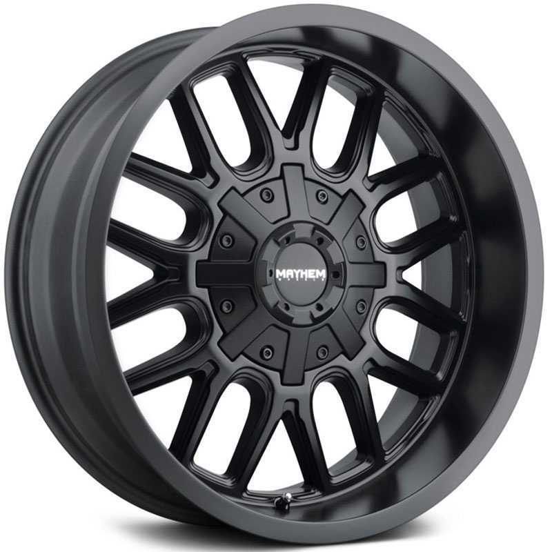 Mayhem Cogent 8107  Wheels Matte Black