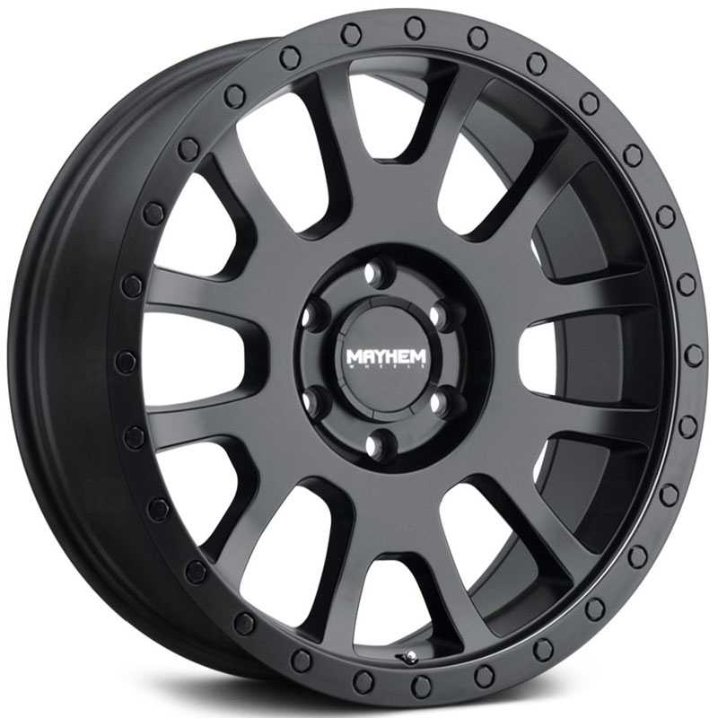 Mayhem Scout 8302  Wheels Matte Black