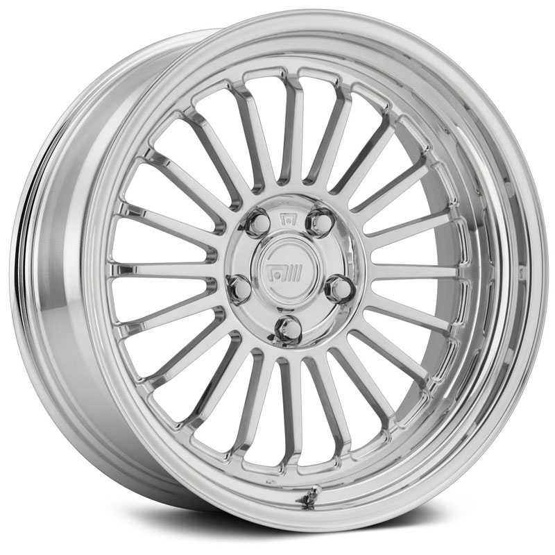 18x9 Motegi MR408  Polished Custom 2 Piece Finish  REV