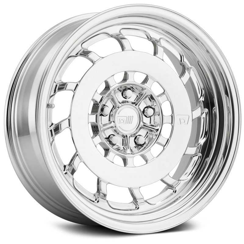 18x10 Motegi MR409  Polished Custom 2 Piece Finish  MID