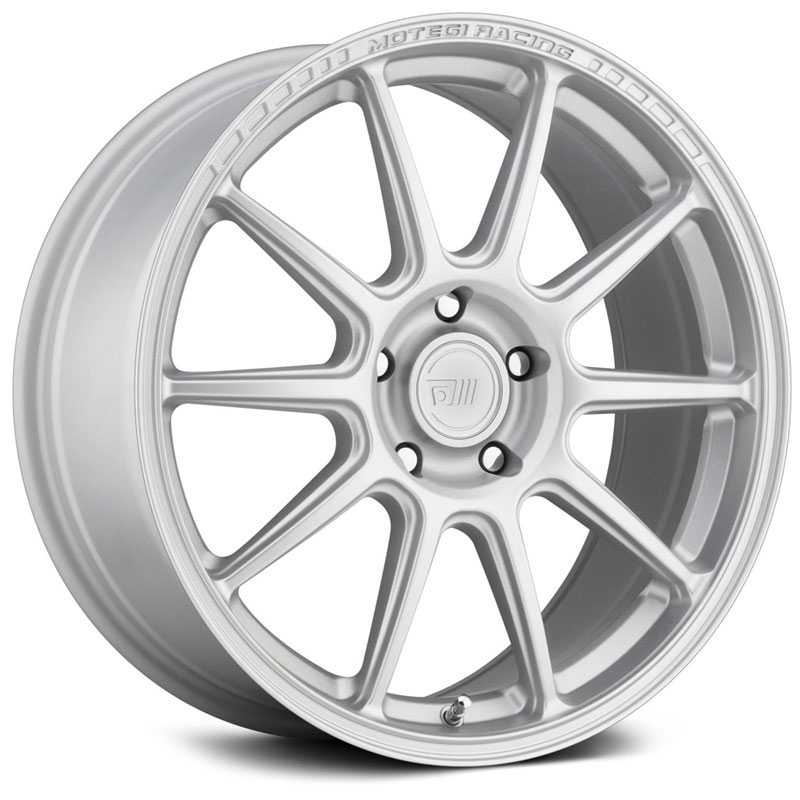 Motegi Racing MR140  Wheels Hyper Silver