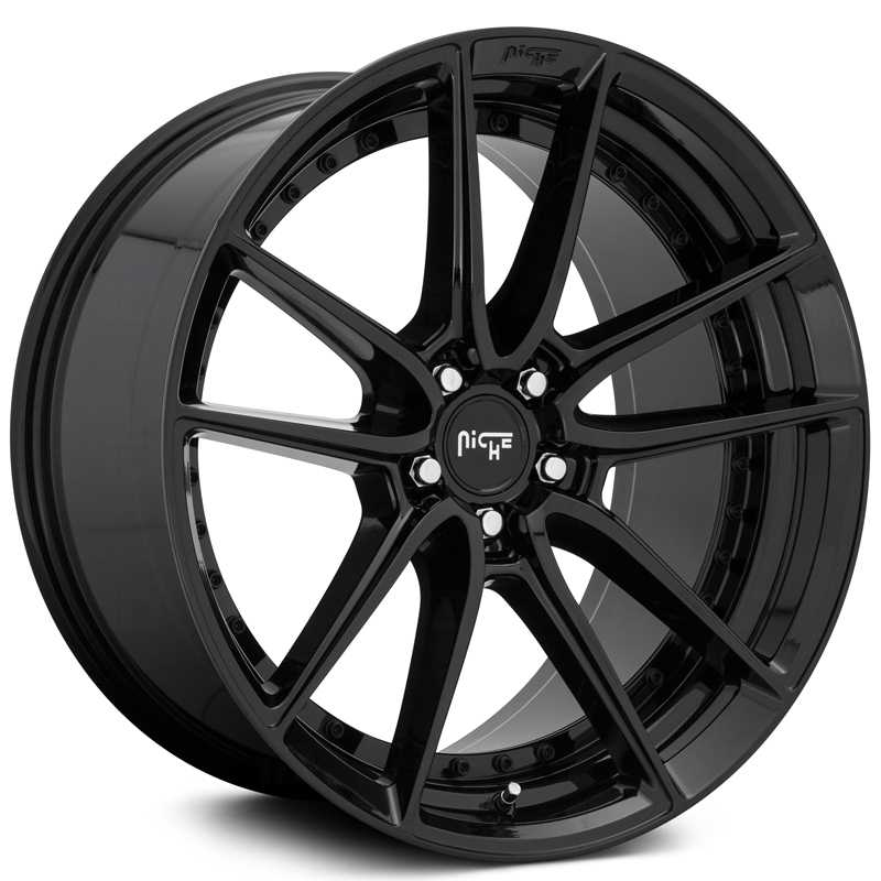 Niche M223 DFS  Wheels Gloss Black