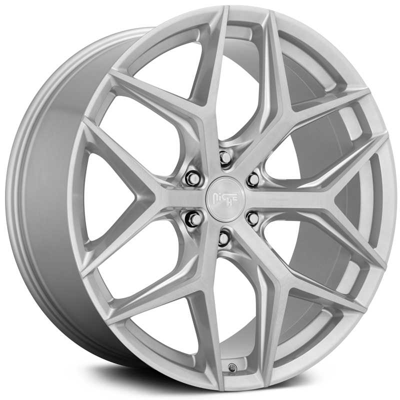 Niche M233 Vice SUV  Wheels Gloss Silver Brushed Face