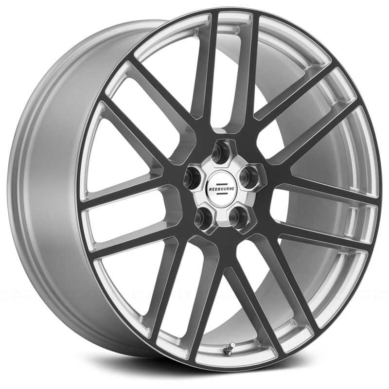 Redbourne Windsor  Wheels Silver w/ Gloss Black Face